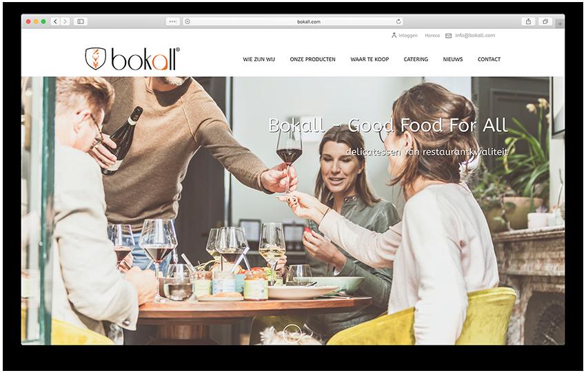 Website - Bokall