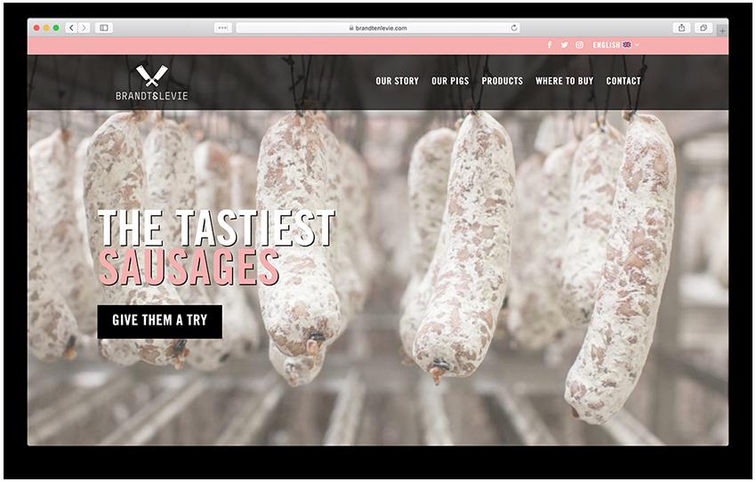 Website - Brandt en Levie